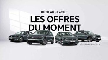 Offres du moment VW Laval Août