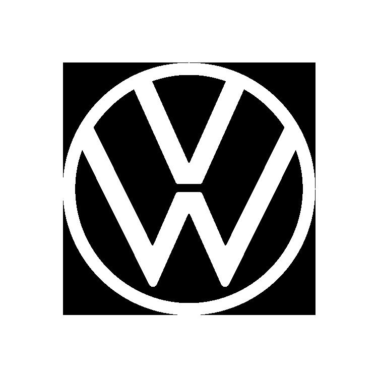 Logo volkswagen blanc
