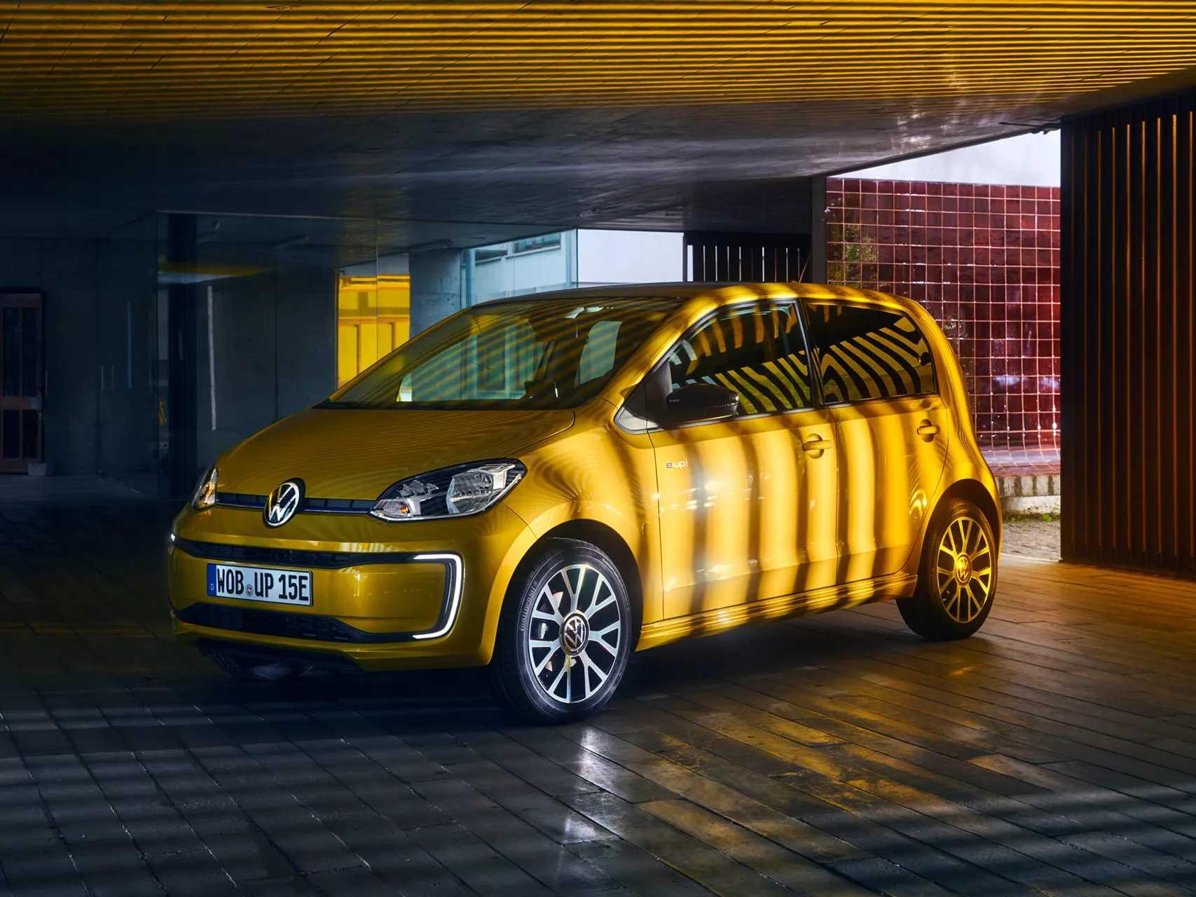 Offre Volkswagen e-up électrique professionnels professionnels