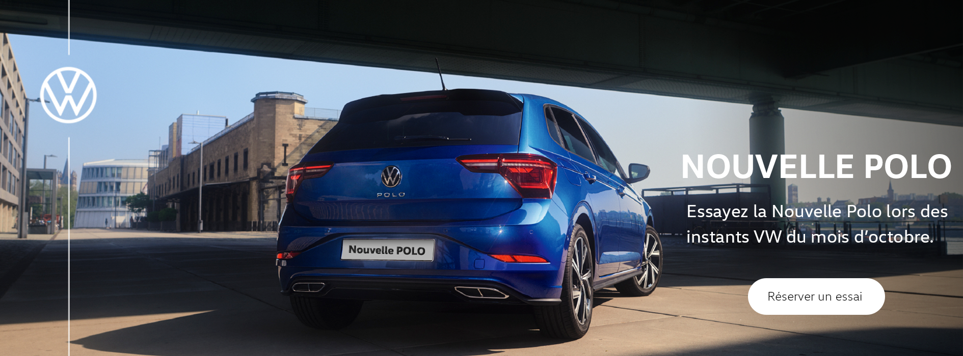 Bannière VW Nouvelle Polo Laval